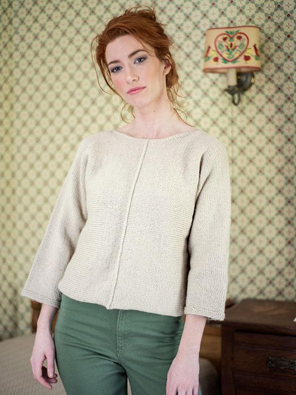 Bay Women's Sweater Free Knitting Pattern