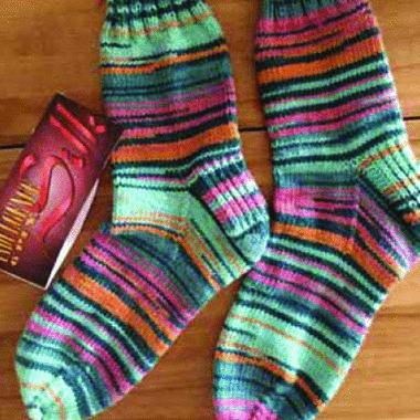 Beginner Knit-along Sock Pattern