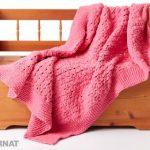 Bernat Daydream Knit Blanket Free Pattern