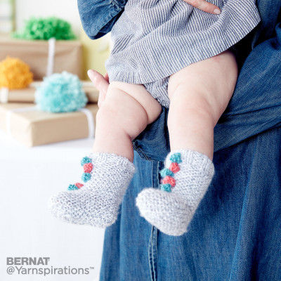 Free Baby Socks Patterns Knitting Bee 10 Free Knitting Patterns