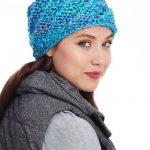 Bernat Slanting Stitch Hat Free Knitting Pattern