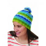 Bernat Spiral Hat Free Intermediate Knitting Pattern