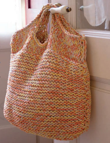 Big Easy Bag Free Knitting Pattern ? Knitting Bee