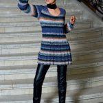 Cameron Noro Free Dress Knitting Pattern. Free dress knitting pattern download.