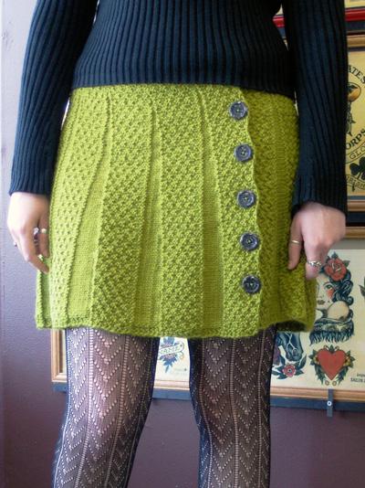 Carnaby Skirt Free Womens Knitting Pattern Knitting Bee