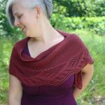 Ceridwen Free Lace Shawl Knitting Stitch