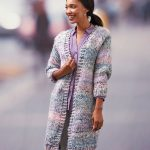 Cozy Long Cardigan Free Knitting Pattern