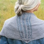 Dowson Simple Lace Shawl Free Knitting Pattern Download