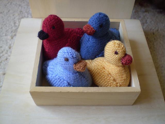 Ducks Free Knitting Patterns