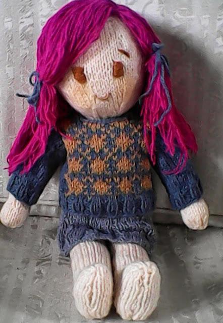 Emiko Doll Free Knitting Pattern