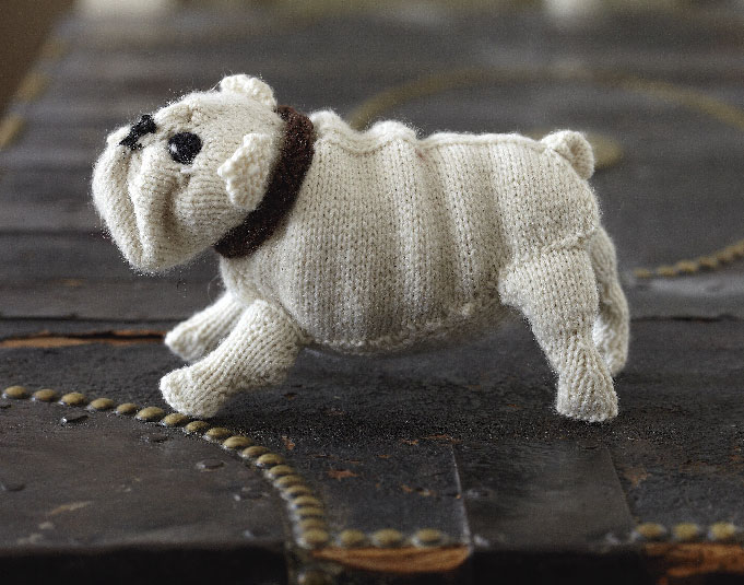 English bulldog free knitting pattern