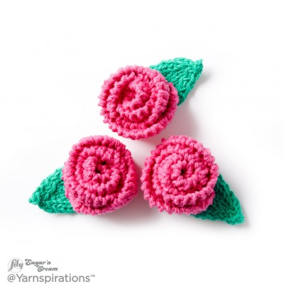 Fabulous Floral Knit Fridgies Free Pattern