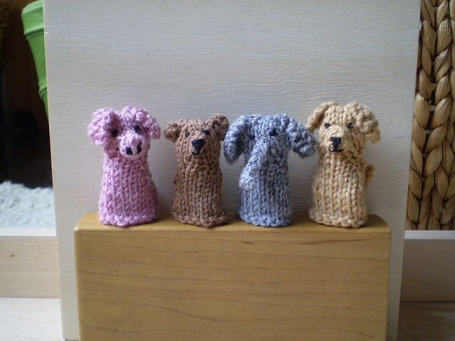 Finger Puppets Free Knitting Patterns