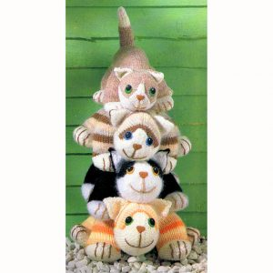 Free cat toy knitting patterns
