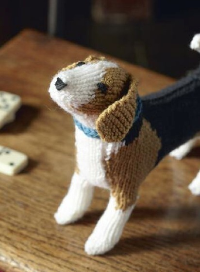 Free Beagle Dog Knitting Pattern