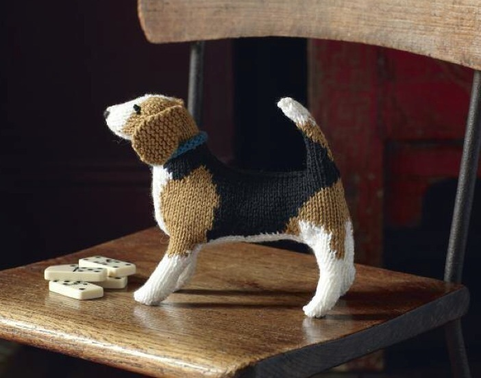 Free Beagle Dog Knitting Pattern Knitting Bee