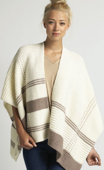 Free Blanket Wrap Knitting Pattern