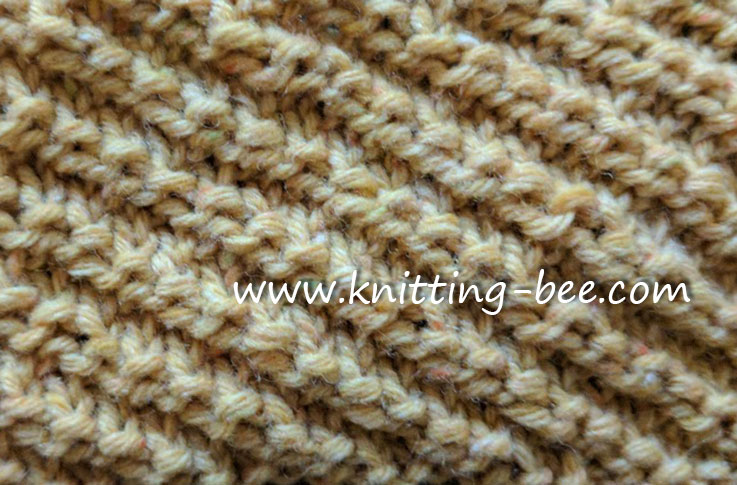 Knitting Bee Stitch Library : New Knitting Patterns on Knitting Bee