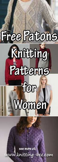 The Best 10 Free Patons Knitting Patterns for Women
