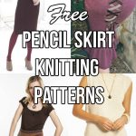 Free Pencil Skirt Knitting Patterns