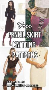 Free Pencil Skirt Knitting Patterns