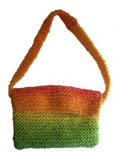 Garter Stitch Purse Free Beginner Knitting Pattern