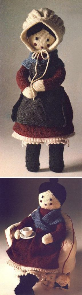 Grandmother Doll Free Knitting Pattern
