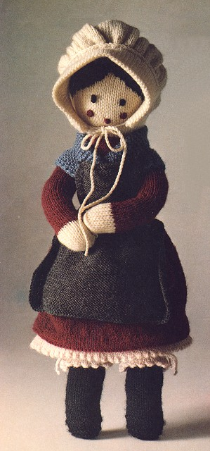 Grandmother Doll Free Knitting Pattern toy