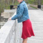 Hibiscus Skirt Free Women's Knitting Pattern