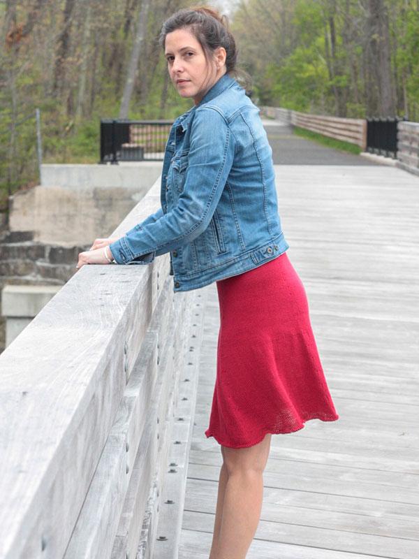 Hibiscus Skirt Free Women S Knitting Pattern