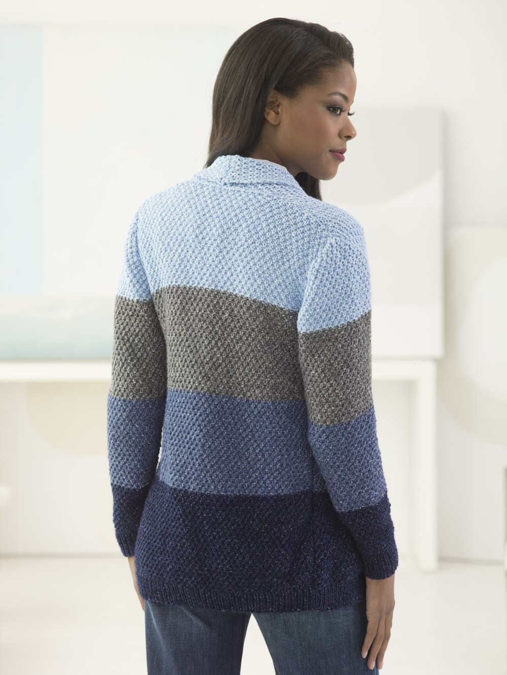 High Plains Cardigan Free Knitting Pattern