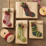 Holiday Socks Free Knitting Pattern Download for Christmas
