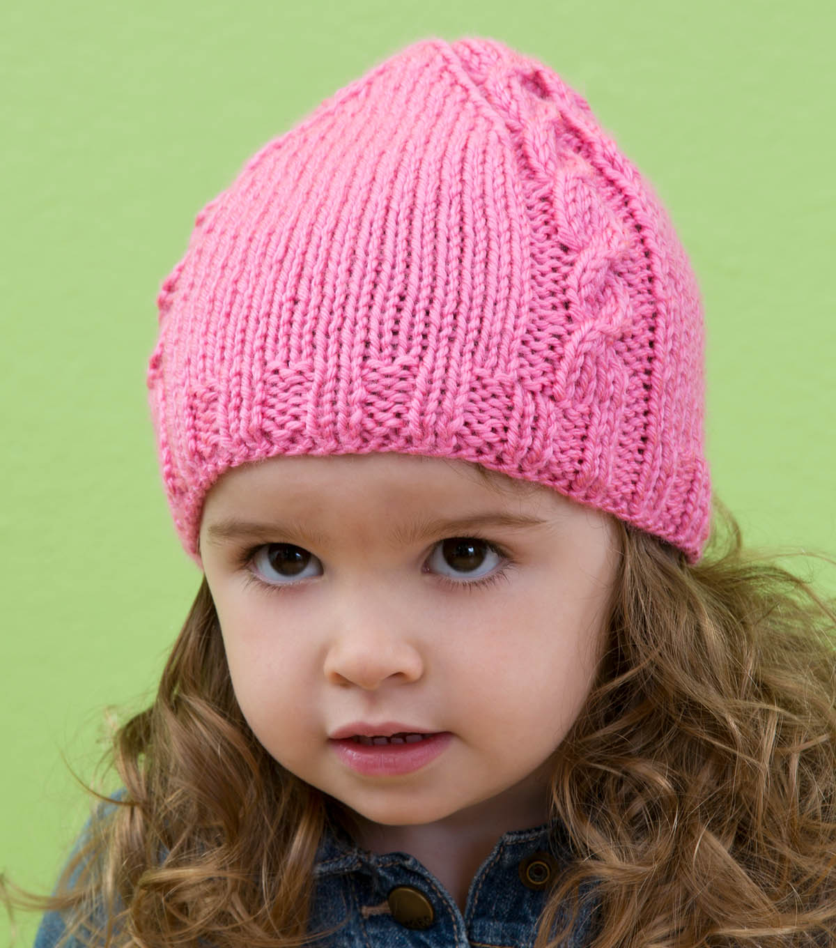 How To Knit A Cabled Baby Beanie Free Pattern