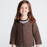 How To Knit A Textured Kids Cardigan Free Pattern
