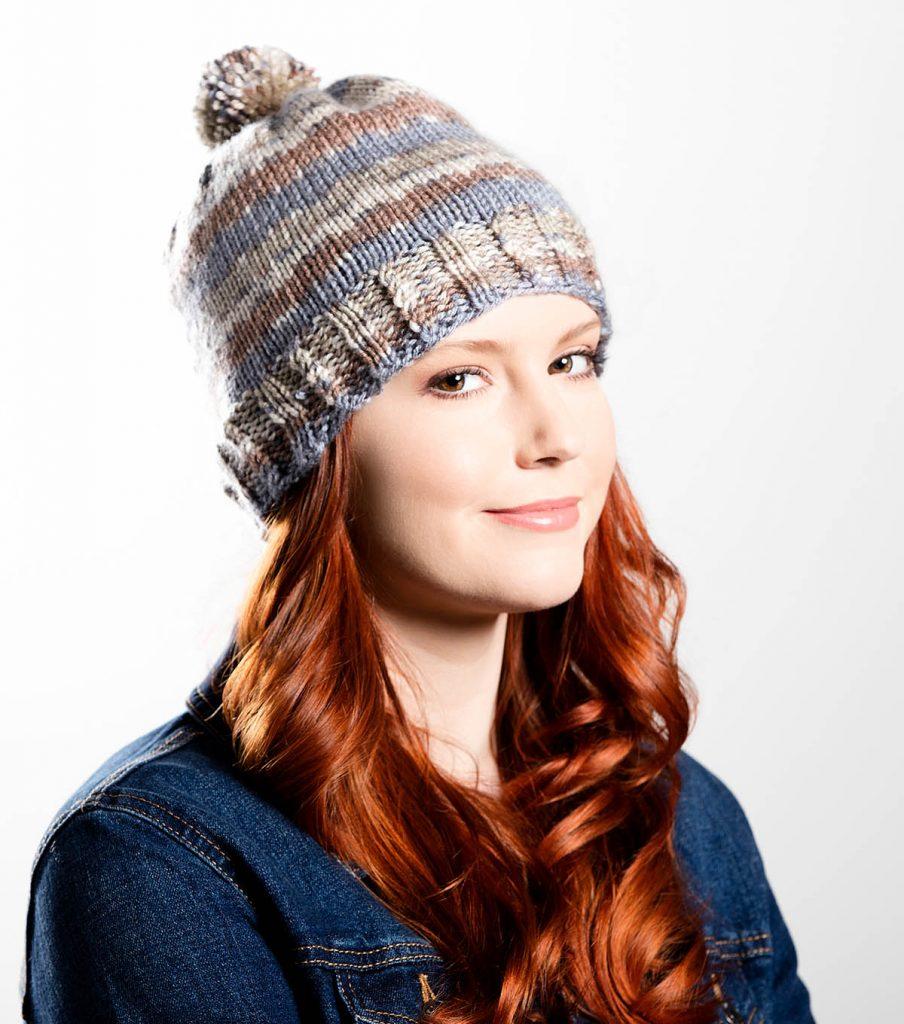 Free free ribbed hat knitting pattern Patterns ⋆ Knitting Bee (13 ...