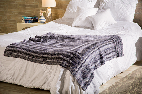 How To Make A Log Cabin Blanket free pattern