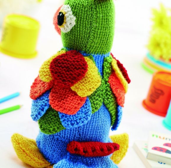 Jason The Parrot Pattern Free Knitting Pattern Knitting Bee