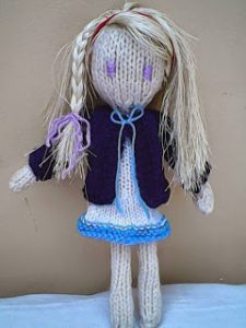 Kadie-Jade Doll Free Knitting Pattern