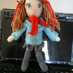 Katy Little Doll Free Knitting Pattern
