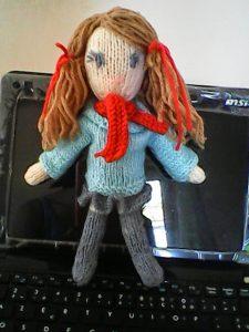 Katy Little Doll Free Knitting Pattern