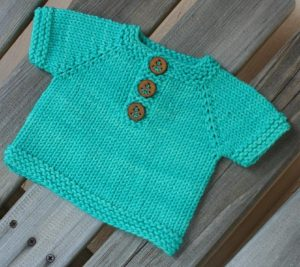 Keams Beginner Baby and Kids Top Free Knitting Pattern