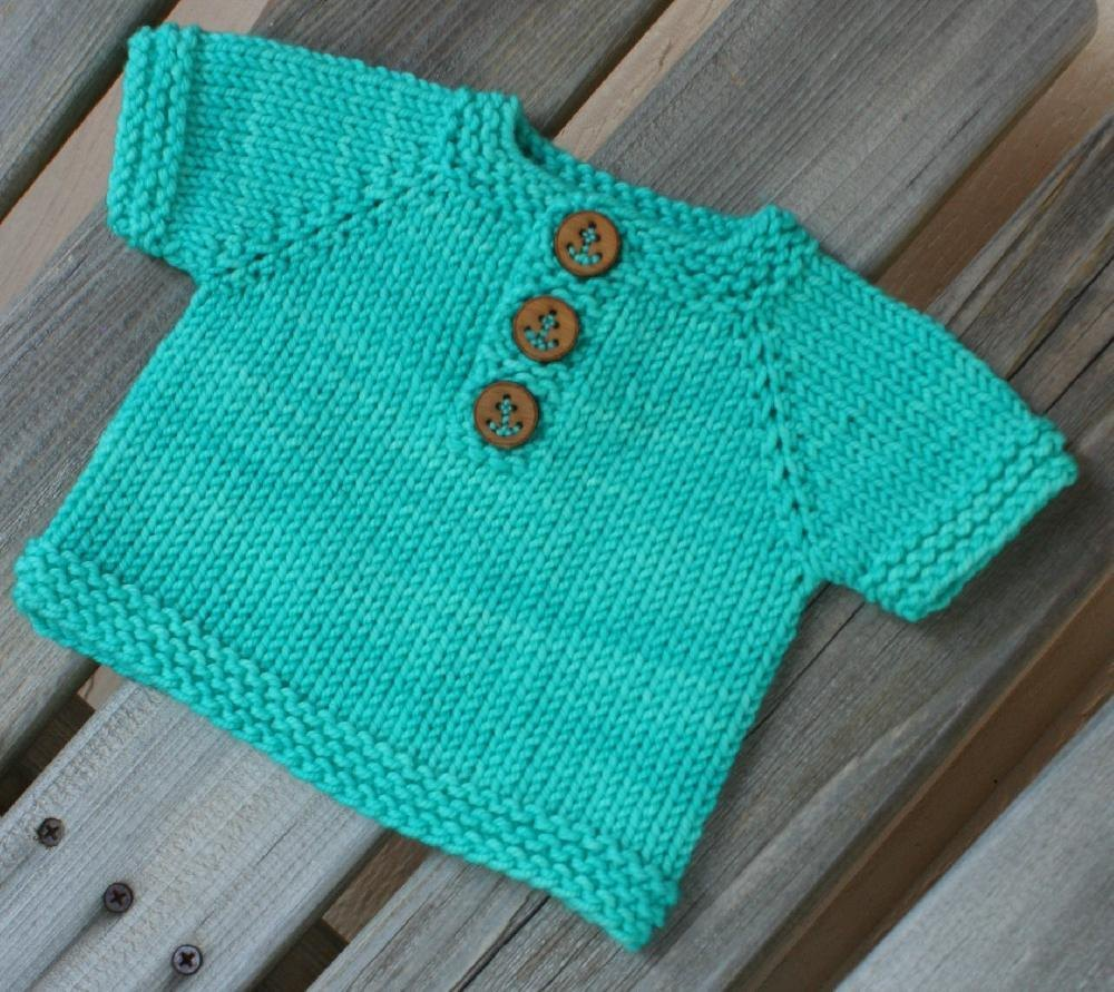 Keams Beginner Baby and Kids Top Free Knitting Pattern