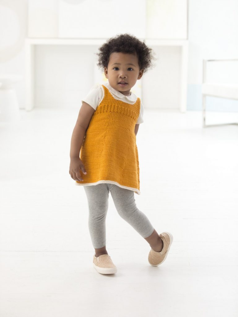 Kelly Tunic Easy Baby and Toddler Knitting Pattern ? Knitting Bee