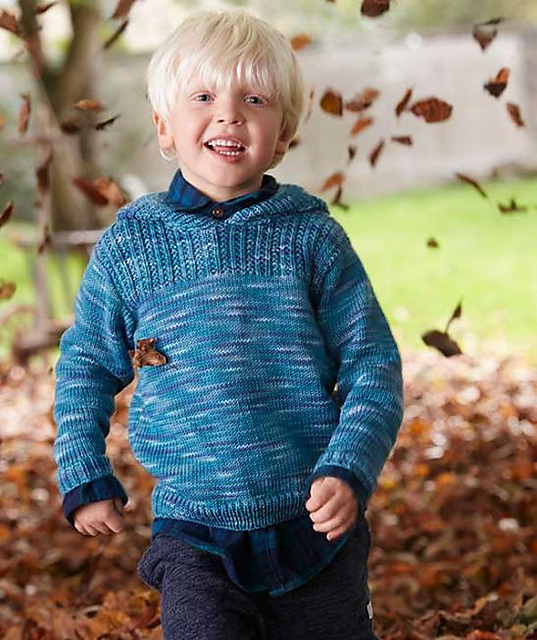Kinderpullover Free Boys Sweater Knitting Pattern
