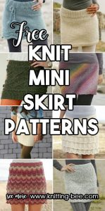 Knit Mini Skirt Patterns Free download