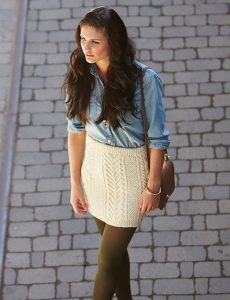 Knit Mini Skirt Patterns Free