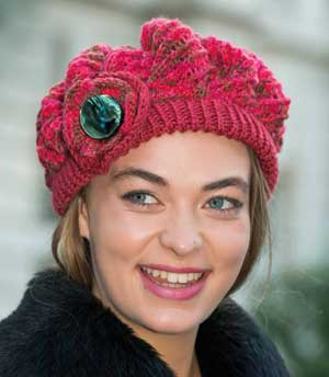 Knitting Pattern For Womens Beret : Free beret Patterns ? Knitting Bee (22 free knitting patterns)