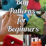 Knitted Bag Patterns for Beginners http://www.knitting-bee.com/top-free-knitting-patterns/knitted-bag-patterns-beginners