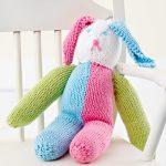 Knitted Stuffed Bunny Free Pattern