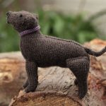 Labrador Retriever Free Dog Knitting Pattern